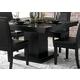 Homelegance Cicero Dining Table in Black 5235-54