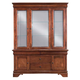 Kincaid Chateau Royale Solid Wood China Cabinet in Aged Maple 53-088P