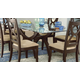 Homelegance Stardust Dining Table in Espresso 5312-72
