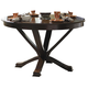 Homelegance Helena Dining Table in Deep Cherry 5327-48