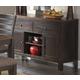 Homelegance Natick Server in Warm Espresso/Light Brown 5341-40