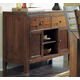 Homelegance Eagleville Server in Warm Brown Cherry 5346-40