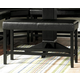 Homelegance Papario Counter Height Bench in Black 5351-24BH