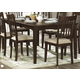 Homelegance Worcester Dining Table in Warm Brown Cherry 5367-78