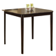 Homelegance Blossom Hill Counter Height Table in Dark Espresso 5385-36