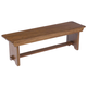 Broyhill Attic Heirlooms Bench in Natural Oak Stain 5397-96SV