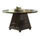 Homelegance Dempsey Dining Table in Dark Cherry 5424-54