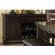 Homelegance Ameillia Server in Dark Oak 586-40