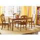 Liberty Furniture Low Country 5pc Rectangular Leg Table Set in Suntan Bronze Finish 76-T3