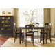 Liberty Furniture Low Country 5pc Casual Dining Room in Anchor Black with Suntan Bronze Finish 80-CD