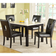 Homelegance Archstone 5pc Dining Table Set in Black