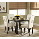 Homelegance Archstone 5pc Dining Table Set in White