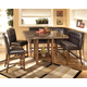 Lacey 6-Piece Square Counter Height Dining Set