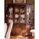 Kincaid Carriage House Solid Wood Canted China Cabinet 60-086P
