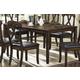 Homelegance Kinston Dining Table in Distressed Oak 630-72