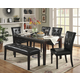 Homelegance Decatur 6pc Dining Table Set in Cherry