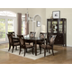 Acme Vienna 7 pc Rectangular Dining Table Set in Dark Cherry