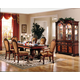 Acme Chateau De Ville 7-Piece Double Pedestal Dining Set in Cherry