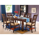 Acme Everest 7-pc Dining Set in Walnut