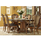 A.R.T. Old World 7-pc Double Pedestal Dining Set in Cherry