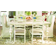 Paula Deen Home 7-pc Paula's Table & Chairs w/Uph Chairs in Linen