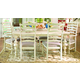 Paula Deen Home 7-pc Paula's Table Set w/Mike's Chairs in Linen