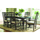 Paula Deen Home 7-pc Paula's Table w/Mike's Chairs in Tobacco
