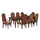 North Shore 7-pc Rectangular Leg Extension Table Set