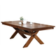 Acme Apollo Trestle Base Dining Table in Walnut 70000