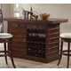 Acme Pacifica Bar Table in Dark Oak 70025