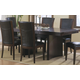 Homelegance Daisy Rectangular Extension Dining Table in Espresso 710
