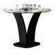 Homelegance Daisy Round Counter Height Table in Espresso 710-36RD
