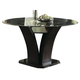 Homelegance Daisy Round Dining Table in Espresso 710-54