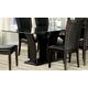 Homelegance Daisy Rectangular Dining Table in Espresso 710-72