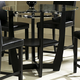 Homelegance  Sierra Counter Height Table in Ebony 722-36