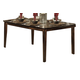 Homelegance Verona Dining Table in Distressed Amber 727-72
