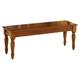 Liberty Furniture Low Country Bench (RTA) in Suntan Bronze Finish 76-C9000B