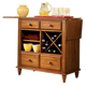 Liberty Furniture Low Country Server in Suntan Bronze Finish 76-SR3636