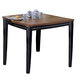 Homelegance Liz Dining Table in Antique Black 764