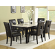 Homelegance Archstone 7pc Dining Table Set in Black