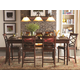 Aspenhome Cambridge 7pc Counter Height Leg Dining Table Set in Brown Cherry ICBDR
