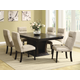 Homelegance Avery 7pc Dining Table Set in Espresso