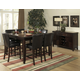Homelegance Belvedere 7pc Counter Height Table Set in Espresso
