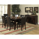 Homelegance Belvedere 7pc Dining Table Set in Espresso