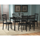 Homelegance Market 7pc Dining Table Set in Cherry
