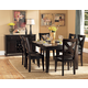 Homelegance Crown Point 7pc Dining Table Set in Merlot