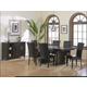 Homelegance Daisy 7pc Rectangular Extension Dining Table Set in Espresso
