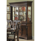 Homelegance English Manor Buffet & Hutch in Cherry 834-50