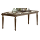 Homelegance Eastover Dining Table in Neutral Gray Diftwood 845-96
