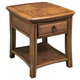 Hammary Antigua Single-Drawer End Table in Toasted Almond 931-915